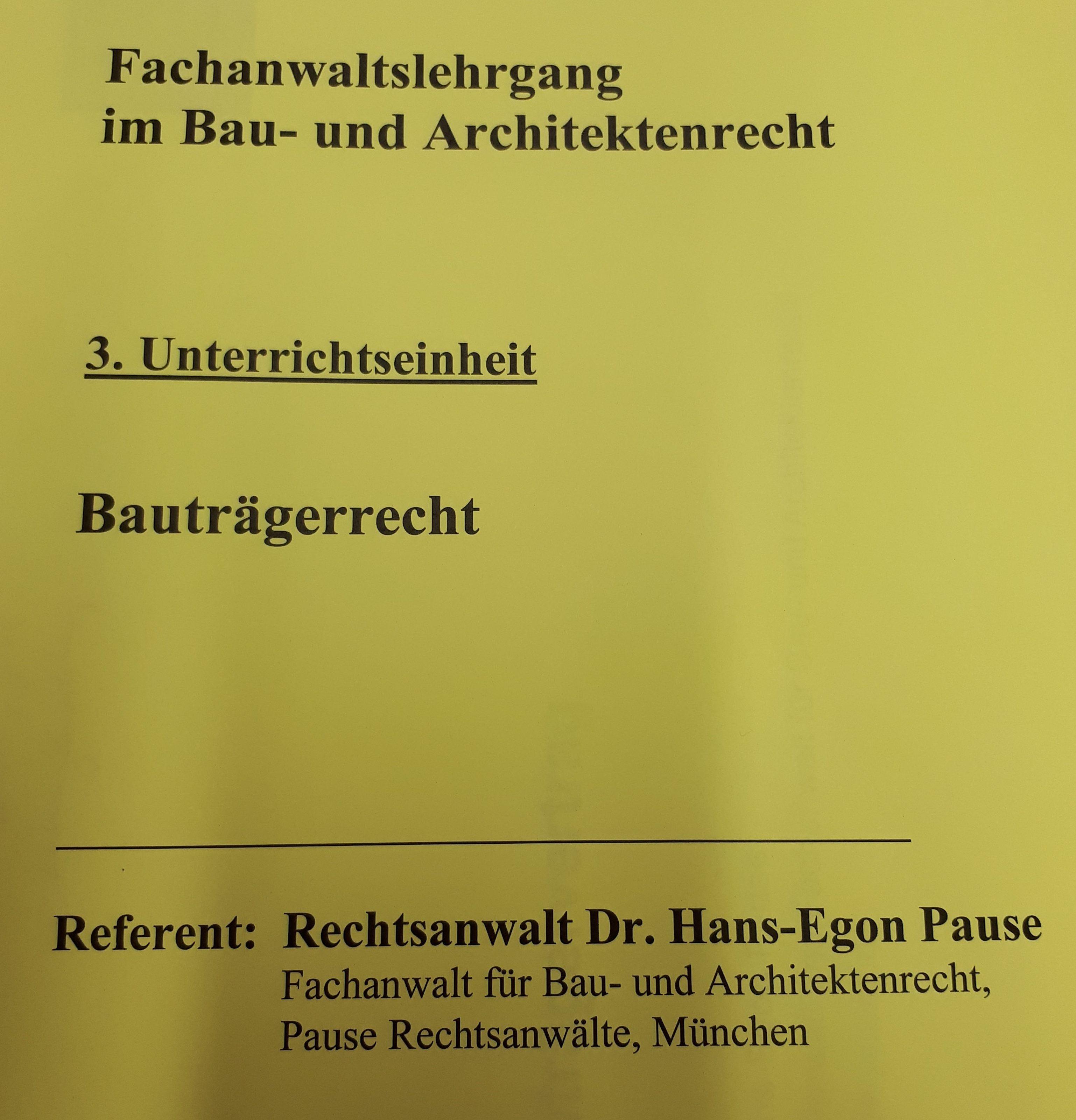 Rechtsanwalt In Leipzig Für Baurecht Und Verwaltungsrecht