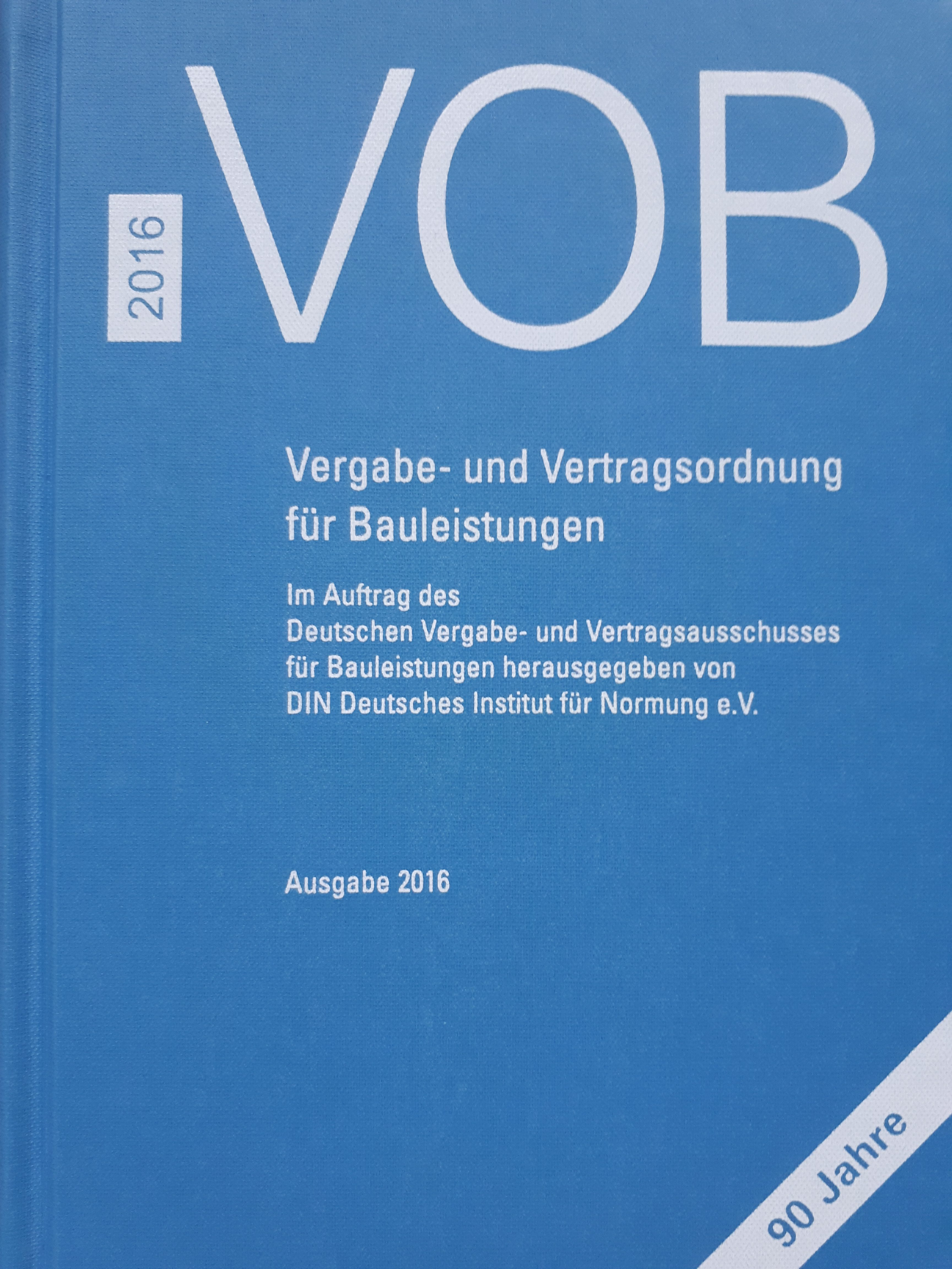 Abweichung Von Der VOB/B Im Bauvertrag