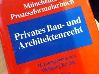 Rechtsanwalt In Leipzig Für Baurecht, Architektenrecht, Verwaltungsrecht, Kündigung, Bauvertrag, Werkvertrag, Ersatzvornahme
