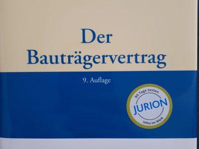 Bauträgervertrag Und Bauträgerrecht